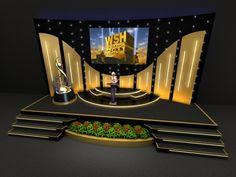 Stage Design-3d by rommel laurente at Coroflot.com Bühnen Design, Tv Set Design, Stage Set Design, Church Stage Design, Sound Design, Display Design, Booth Design, Plateau Tv, Corporate Event Design