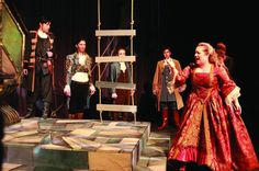 The Winter's Tale.  All female production.  http://www.the-peak.ca/2014/07/the-winters-tale-is-classic-shakespeare-with-a-twist/