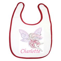 personalised baby embroidery flower dress fairy with your childs name $8.00 by BabysPreciousGifts