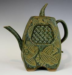 Shirl Parmentier - Teapot With Woven Insert