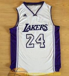 Camiseta kobe Bryant #24 Los Angeles Lakers blanco AU €19.99