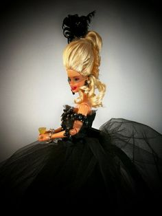 One of a Kind Marie Antoinette Barbie