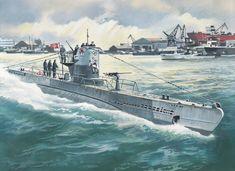 U-Boat - a German submarine used in World War I.