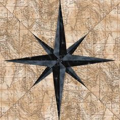 Compass Needle - Paper Piecing | Craftsy