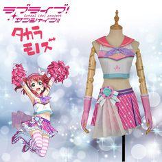 Lovelive!Sunshine! Aqours Ruby Kurosawa Cosplay Costume Cheerleaders Awakening #Cosplayfly #Dress