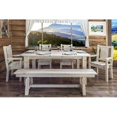Found it at Wayfair - Homestead 4 Post Dining Table