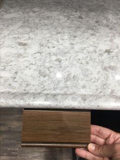 Flaked Pearl Riverstone Quartz Countertop For Island