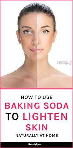 baking soda for skin lightening