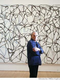Brice Marden http://articles.sfgate.com/2007-03-04/entertainment/17234713_1_brice-marden-paintings-first-pictures