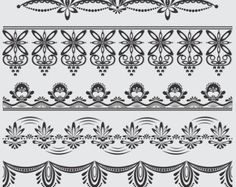chocolate lace template - Google Search