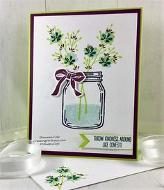 Stampin'Up! Jar of Love Kindness card