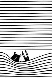 Scandinavian Nursery Wall Art Unique Baby Gift Kids Room Decor Black and White Art for Kids Room Animal Prints - Kids Decor Nursery Wall Art by Kubem Studio Kids Room Art, Art For Kids, Art Children, Nursery Prints, Nursery Wall Art, White Nursery, Nursery Wallpaper, Nature Wallpaper, Nursery Decor