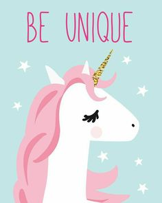 Ideas Wall Art For Kids Playroom Frames Unicorn Quotes, Unicorn Art, Magical Unicorn, Cute Unicorn, Rainbow Unicorn, Nursery Prints, Nursery Wall Art, Unicorn Wallpaper Cute, Baby Girl Drawing