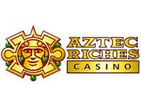 Aztec Riches Casino Sign-up Bonus: Triple SUB up to $€£850 Minimum Deposit: $€£20