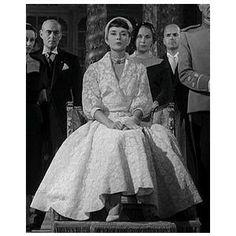 Roman Holiday Edith Head Dress