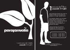 Flyer diseñado para concurso de tienda de ropa
