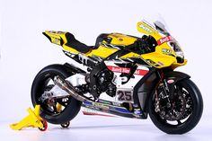 MCE Insurance 2017 Anvil Hire (TAG Racing) Yamaha YZF R1 BSB