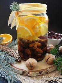 Ala piecze i gotuje: Nalewka świąteczna-bożonarodzeniowa Limoncello, Mason Jars, Cooking Recipes, Food, Chef Recipes, Essen, Mason Jar, Meals, Eten
