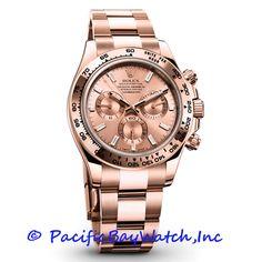 Rolex introduced 3 Daytona watches, at Basel World 2 Platinum gold! Case of everose gold Daytona is Rolex Daytona Gold 2014 Price TBD soon Rolex Or Rose, Rolex Daytona Rose Gold, Army Watches, Cool Watches, Rolex Watches, Fossil Watches, Daytona Watch, Rolex Cosmograph Daytona, Mad Hatter Tattoo