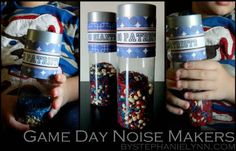 Turn a water bottle into a spirited shaker. | 39 Clever Tailgating DIYs To Get You In The Spirit