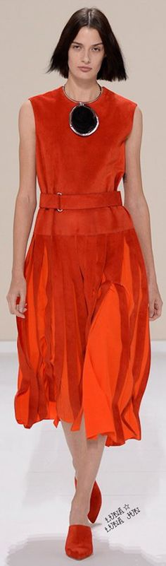 Hermès Spring 2016 women fashion outfit clothing style apparel @roressclothes closet ideas