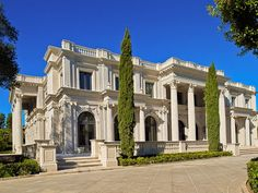 "Beverly Hills mansion ""Le Palais des Anges"" sold in May 2012 for $34,500,000 to…"