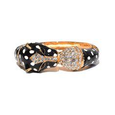Black Leopard Cuff - Jeweliq $25