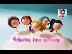 Peinados para Muñecas porcelana fria PRIMERA PARTE / Hairstyles for cold porcelain dolls PART ONE - YouTube