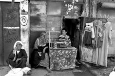 Baghdad in 2011, a tailor waiting for customers. #Photography #Iraq #Baghdad #black and white #Documentary #People