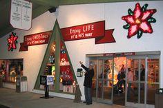 Welcome to Bronner's CHRISTmas Wonderland! #Christmas #Bronners