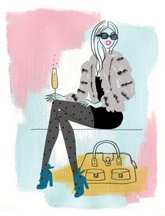 Neryl Walker - The Sartorialist from The Fashionable Cocktail book