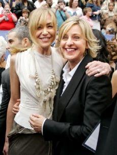 Portia & Ellen; best celebrity couple