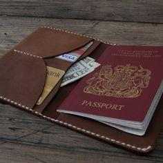 Fancy - Autumn Leather Passport Wallet
