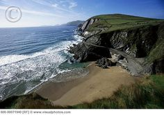 The beaches of Dingle Peninsula, Ireland. Still as beautiful & untouched as when David Lean shot for Ryan's Daughter