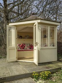 Exceptional Image Result For Corner Summerhouse Decorated