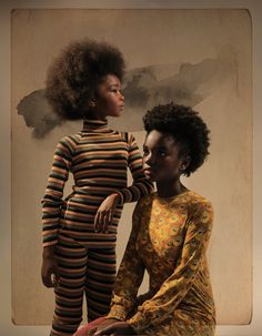 Cinematic, fashion-forward still images and films from purposeful collaboration created in uplifting shoot experiences. Black Girl Art, Black Girl Magic, Black Girls, My Black Is Beautiful, Beautiful People, Beautiful Women, Kiss Beauty, Beauty And The Best, Black Girl Aesthetic