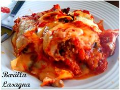 The Food Hussy!: Food Hussy Recipe Review: Barilla Oven Ready 5 Layer Lasagna