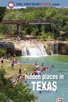Most People Don't Know These 10 MORE Hidden Gems In Texas Even Exist (Part III) - - Texas just keeps finding ways to impress us. Texas Vacation Spots, Texas Vacations, Texas Roadtrip, Texas Travel, Dream Vacations, Camping Texas, Vacation Places In Usa, Texas Tourism, Florida Travel