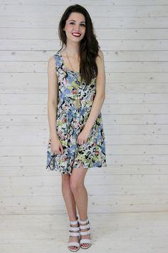 april floral dress