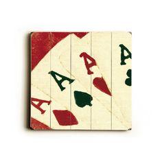 my mikey aces ;) wood vintage art