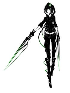 Dual-Blade Assassin by ZephyraVirgox.deviantart.com on @deviantART