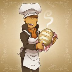 Totally Baked by zillabean on deviantART<< the bread is probably way better than Nick's