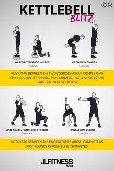 Visual Workouts For Everyone Kettlebell Snatch, Full Body Kettlebell Workout, Best Kettlebell Exercises, Kettlebell Training, Kettlebell Swings, Boxing Workout, Training Workouts, Workout Abs, Fitness Workouts