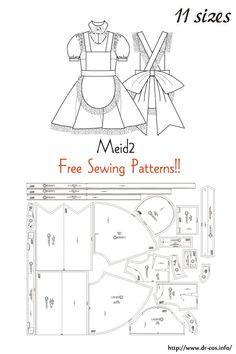 Dress Sewing Patterns, Sewing Patterns Free, Free Sewing, Clothing Patterns, Sewing Hacks, Sewing Tutorials, Sewing Crafts, Diy Clothing, Sewing Clothes