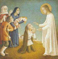 bradi barth   Jesus heals the sick by Bradi Barth