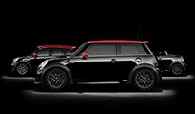 New Mini with John Cooper Works Package - dark green with black top