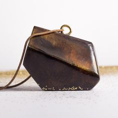 Something new from our studio: simple & geometric pendants. Amber & Navy blue. Check them out!