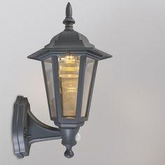 Wall Lamp New York Solar LED Dark Grey