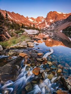 Lake Isabelle - Rocky Mountain National Park - Colorado, USA