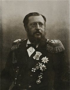 """In 1883 the Emperor granted to the children born out of wedlock to Konstantin Nikolaevich Romanov (1827-1892)  Russia the name Knyazev & hereditary nobility. But misfortune soon came to Konstantin. Levushka """"Lev"""" Konstantinovich Knyazev (1883–1885) fell ill with scarlet fever. He received a telegram from Anna (1847-1922) that the boy died. 4 days later, the eldest son Izmail """"Malle"""" (Ishmael) Konstantinovich Knyazev (1879–1885) fell ill.  All hoped for a miracle, but again his son died."""